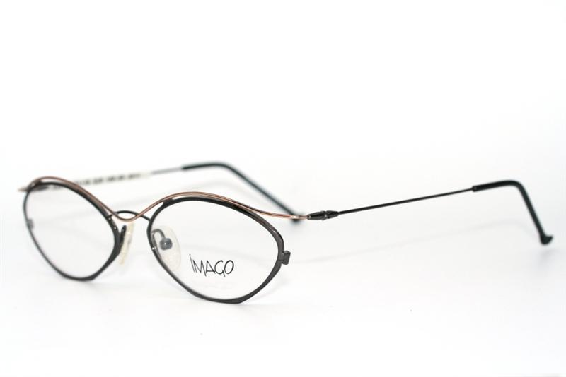 imago taxus col 2 brille titangrau gold glasses lunette ebay. Black Bedroom Furniture Sets. Home Design Ideas